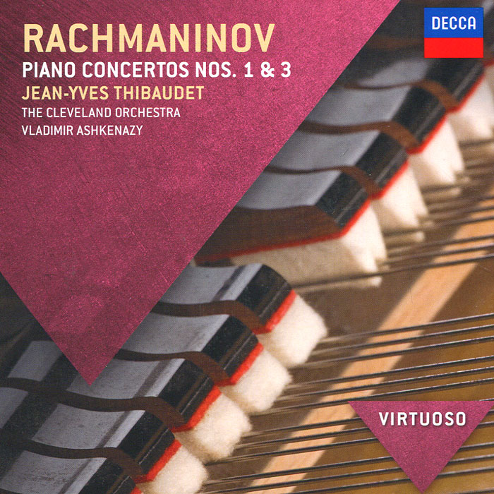Rachmaninov. Piano Concertos 1 & 3