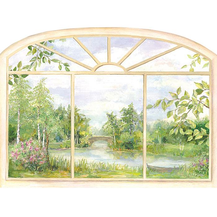 Украшение для стен и предметов интерьера Окно. ЛетоВ2007Украшение для стен и предметов интерьера Окно. Лето, состоящее из 1 самоклеющегося элемента, поможет вам украсить интерьер вашего дома и проявить индивидуальность. Самоклеющийся элемент выполнен в виде окна, за которым видна дивная природа летом.Декоретто - уникальный способ легко и быстро оживить интерьер, добавить в него уют и радость. Для вас открываются безграничные возможности проявить творчество и фантазию, придумать оригинальный дизайн, придать новый вид стенам и мебели. В коллекции Декоретто вы найдете украшения для любых городских и дачных интерьеров: детских, гостиных, спален, кухонь, ванных комнат. Особенности украшений Декоретто: изготовлены из экологически безопасной самоклеющейся пленки с водоотталкивающей поверхностью;быстро и легко наклеиваются на обои, крашеные стены, дерево, керамическую плитку, металл, стекло, пластик;при необходимости удобно снимаются, не оставляют следов и не повреждая поверхность (кроме бумажных обоев);специальный слой защищает поверхность от влаги и выгорания. Характеристики: Материал: самоклеющаяся пленка. Размер листа: 67 см x 47 см. Размер листа (в упаковке, в развернутом виде): 71 см x 47 см. Артикул: B 2007.Изготовлено в России по лицензии Ascott Group (Франция).