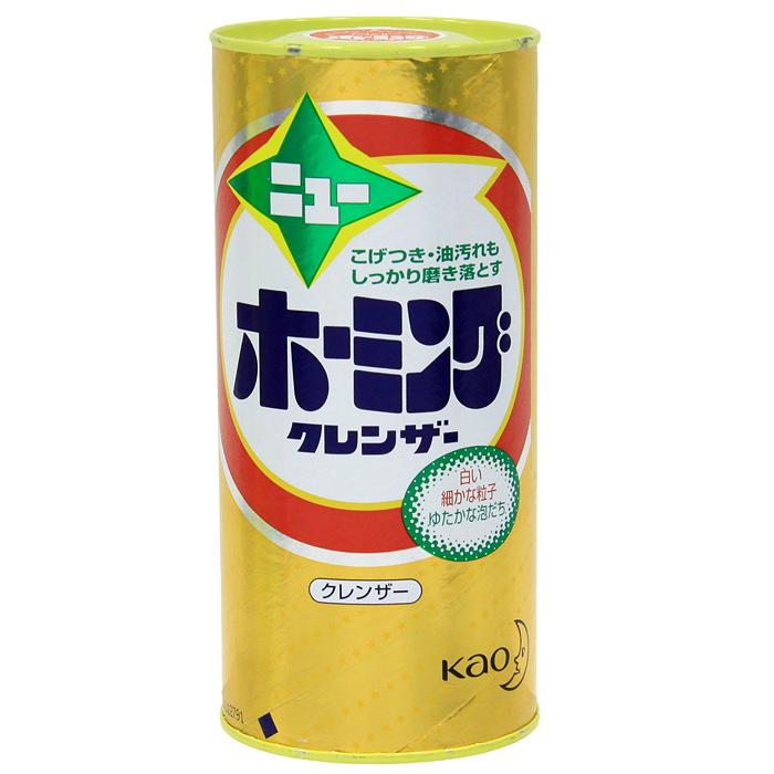 Порошок KAO New Homing, от подгаров и жиров, 400 г порошок для посудомоечной машины kao citric acid effect аромат грейпфрута 680 г