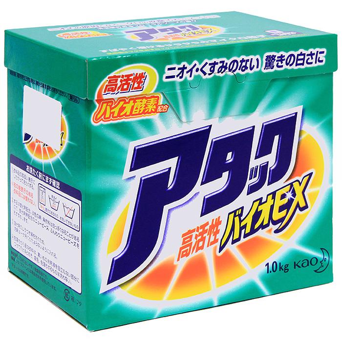 Стиральный порошок KAO Attack Bio EX, 1 кг