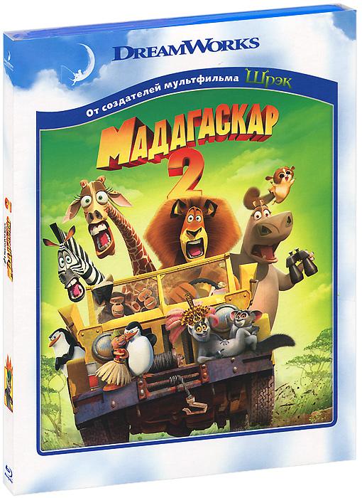 Мадагаскар 2 (Blu-ray) мадагаскар 3 3d blu ray