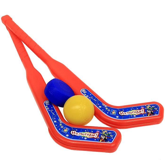 Набор для игры в хоккей Ну, погоди!. Т53919 игрушки чтобы играть в хоккей