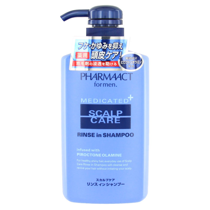 Шампунь Pharmaact 2 в 1, против перхоти и зуда кожи головы, для мужчин, 400 мл013087Мужской шампунь Pharmaact 2 в 1 против перхоти и зуда кожи головы подходит для ежедневного использования. Шампунь очищает и восстанавливает волосы, не раздражая кожу головы. Подходит для чувствительной кожи головы. Придает волосам здоровый и сияющий вид, а активный компонент пироктоноламин предотвращает появление перхоти и зуда кожи головы. Дикалийглицериновой кислоты - увлажняющий компонент удерживает влагу, предотвращая сухость и ломкость волос.Характеристики:Объем: 400 мл. Производитель: Япония. Артикул: KY-41. Товар сертифицирован.
