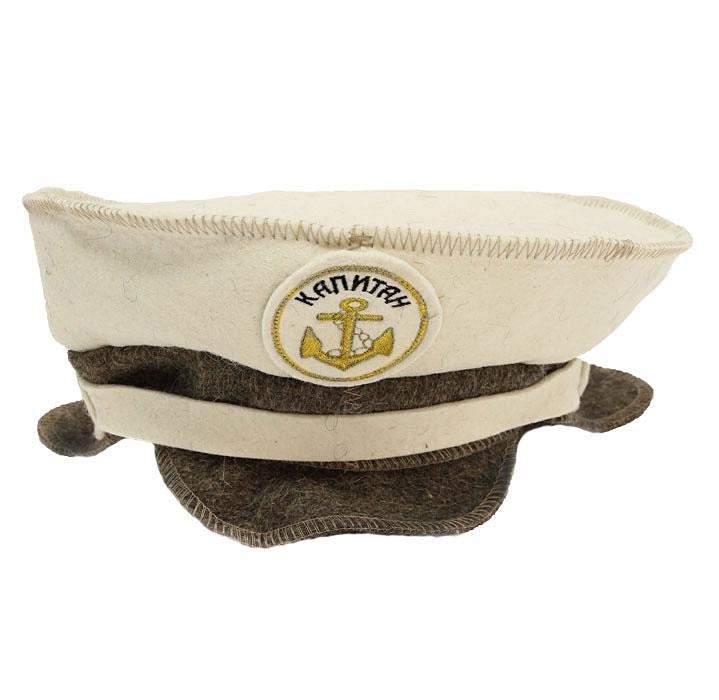 Шапка для бани и сауны Капитанская903701Шапка для бани и сауны Капитанская, оформленная оригинальной вышивкой - это незаменимый аксессуар для любителей попариться в русской бане и для тех, кто предпочитает сухой жар финской бани. Необычный дизайн изделия поможет сделать ваш отдых более приятным и разнообразным.При правильном уходе шапка прослужит долгое время - достаточно просушивать ее, подвешивая за петельку. Характеристики: Материал: 100% шерсть. Диаметр по нижнему краю: 29 см. Производитель: Россия.