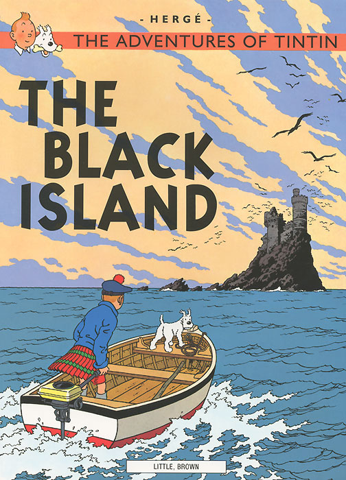 The Adventures of Tintin: The Black Island the brides of rollrock island