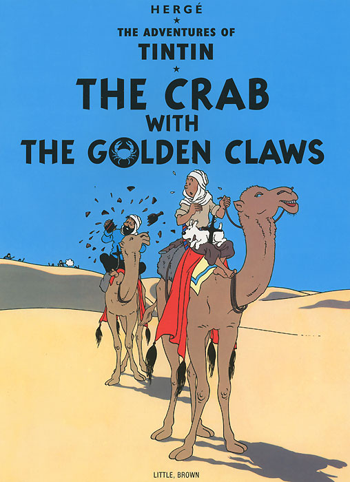 The Adventures of Tintin: The Crab with the Golden Claws the golden city