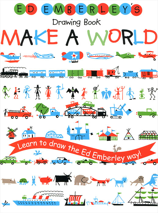 Купить Ed Emberley's Drawing Book: Make a World