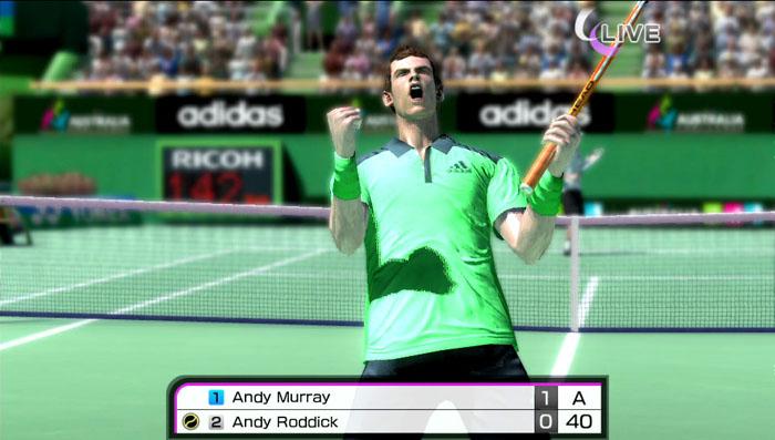 Virtua Tennis 4: Мировая серия (PS Vita) Virtua Tennis Team
