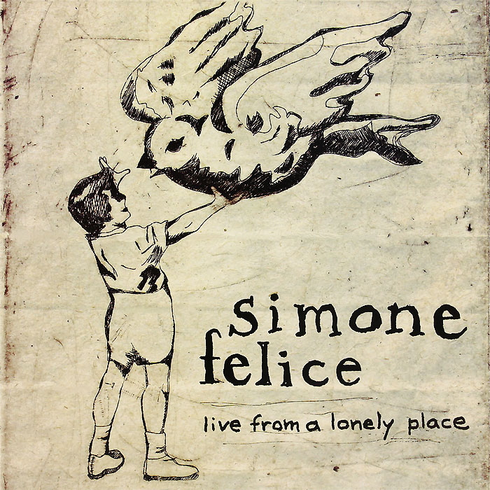 Simone Felice. Live From A Lonely Place (LP)