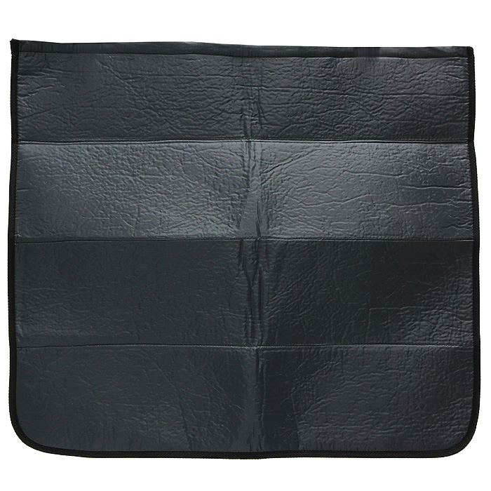 Накидка на бампер Comfort Adress, цвет: серый, 75 см х 65 смdaf007Накидка на бампер Comfort Adress создана защищать одежду от грязи, а бампер от царапин. Не испачкать брюки о грязный бампер, комфортно доставать сумки из багажника - желание каждого водителя. А царапины, оставленные на бампере большими чемоданами отпускников - ведь это влияет на стоимость вашего автомобиля. Накидка, выполненная из плотной ткани, крепится к полу багажника на липучке. Складывается накидка - грязь к грязи, не пачкая руки. В сложенном виде она очень компактна и занимает всего 10 см. Легко стирается. Характеристики: Материал верха: непромокаемая ткань ПВХ 150D. Материал прослойки: поролон 3 мм. Материал подкладки: спанбонд 250 гр/м. Размер: 75 см х 65 см. Цвет: черный. Производитель: Россия. Артикул: daf 007.