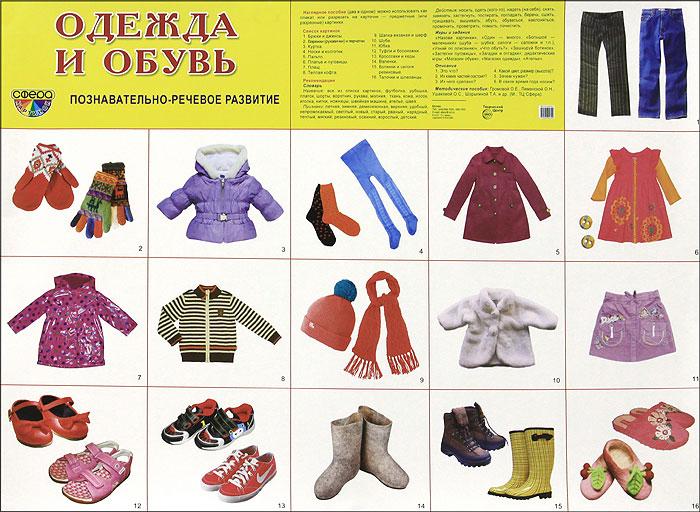 Одежда и обувь. Плакат одежда обувь и аксессуары