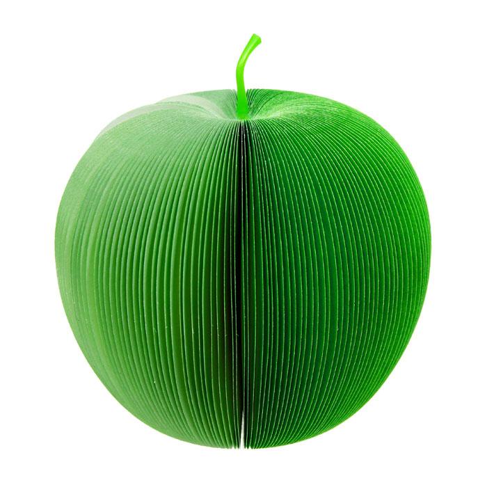Блокнот Яблоко, цвет: зеленый91728 / 000033Оригинальный блокнот Яблоко идеально подойдет для памятных записей, любимых стихов, рисунков и многого другого. Блокнот выполнен в виде зеленого яблока и хранится в специальной сеточке для фруктов. Блокнот станет забавным и практичным подарком: он не затеряется среди бумаг и долгое время будет вызывать улыбку окружающих.Характеристики: Материал: бумага, пластик. Размер в сложенном виде: 5 см х 9,5 см. Размер в разложенном виде: 10 см х 10 см x 9,5 см. Производитель: Китай. Артикул: 91728.