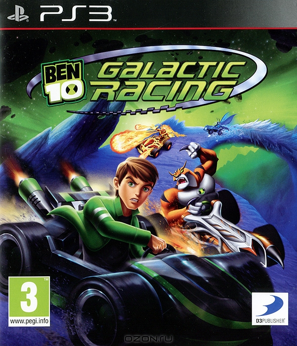 Zakazat.ru Ben 10: Galactic Racing (PS3)