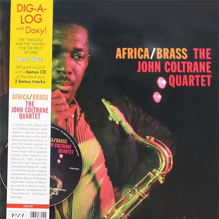 Квартет Джона Колтрэйна The John Coltrane Quartet. Africa / Brass (LP + CD) dust of the damned