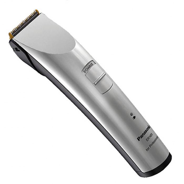 Panasonic ER-1420S520 триммерER1420S520Профессиональная машинка для стрижки волос/триммер Panasonic Panasonic ER 1420S.Новый дизайн.Стенды для зарядки и хранения насадок.Долговечный и экологичный Ni-Mh (никель-металлгидридный) аккумулятор.Покрытие керамических лезвий нитридом титана.Заточка лезвий типа Diamond.