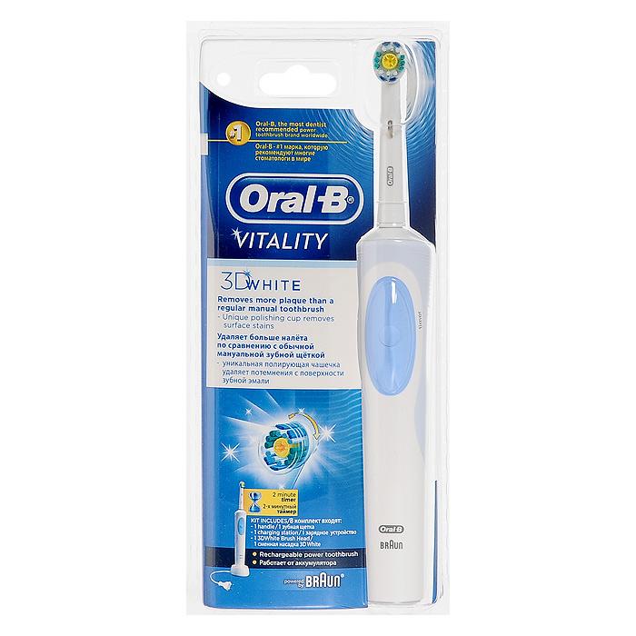 Braun Oral-B Vitality 3D White D12. 513DWэлектрическая зубная щетка Oral-B
