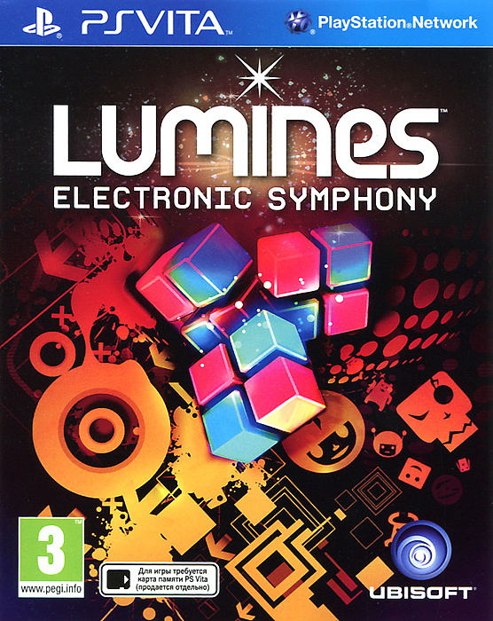 Lumines: Electronic Symphony (PS Vita) playstation