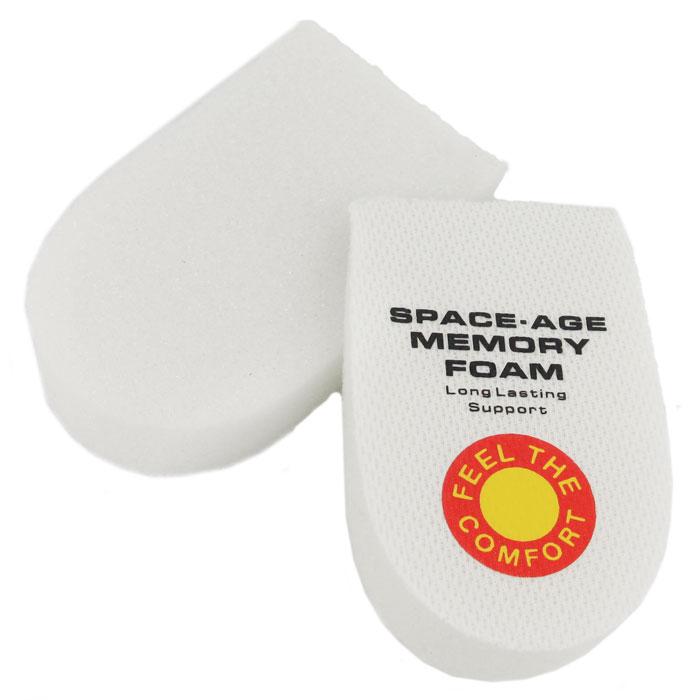 Стелька-подушка Bradex, с памятью, 2 штKZ 0053Стелька-подушка Bradex уменьшает нагрузку на позвоночник, амортизирует всю поверхность пятки и подходит для предупреждения и борьбы с пяточными шпорами. Стелька создана для разгрузки пятки во время выполнения спортивных упражнений или долгой ходьбы. Стелька изготовлена из специальной пены, способной реагировать на температуру тела и запоминать форму стопы, располагая ее корректным образом. Характеристики:Материал: ПВХ. Размер: 9,5 см х 6 см х 2,5 см. Размер упаковки: 11 см х 6,5 см х 3,5 см. Артикул: KZ0053. Производитель: Китай.