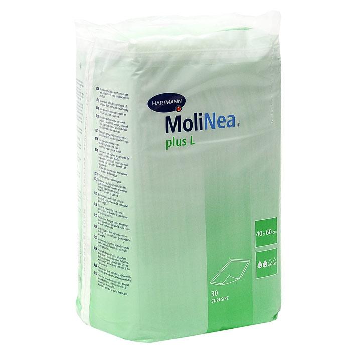 Одноразовые впитывающие пеленки Molinea (Молинеа) Plus L, 40 см х 60 см, 30 шт mepsi пеленки одноразовые впитывающие 60 х 60 см 5 шт