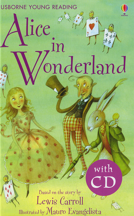 Alice in Wonderland (+ CD-ROM) down the rabbit hole