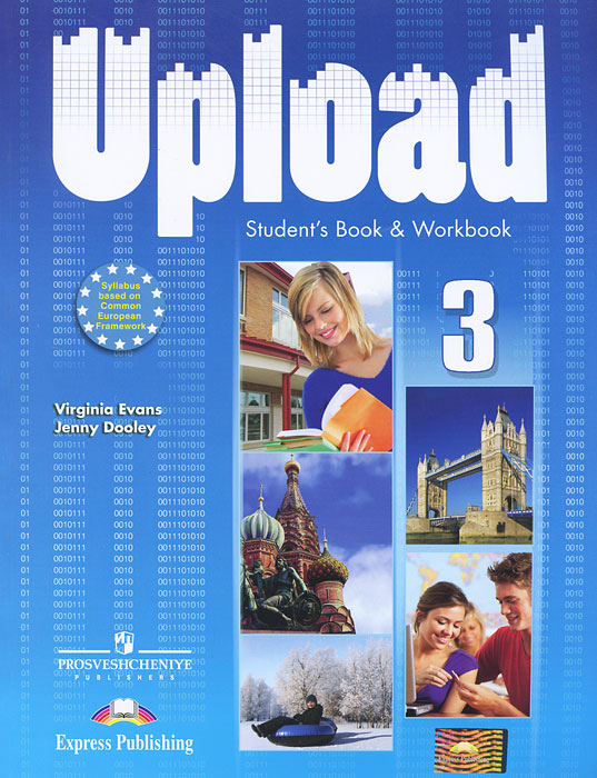 Virginia Evans, Jenny Dooley Upload 3: Student Book & Workbook american english file level 4 student book