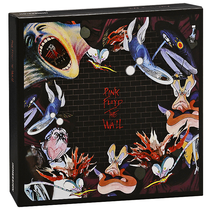 Pink Floyd Pink Floyd. The Wall (6 CD + DVD) wall hanging art decor brick wall print tapestry