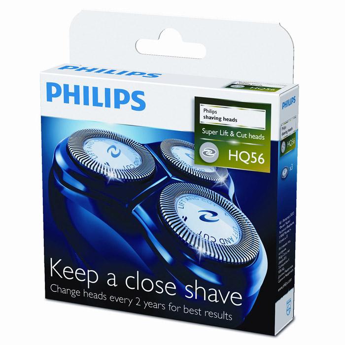 Philips HQ56/50 бритвенные головки, 3 шт. - Бритвы