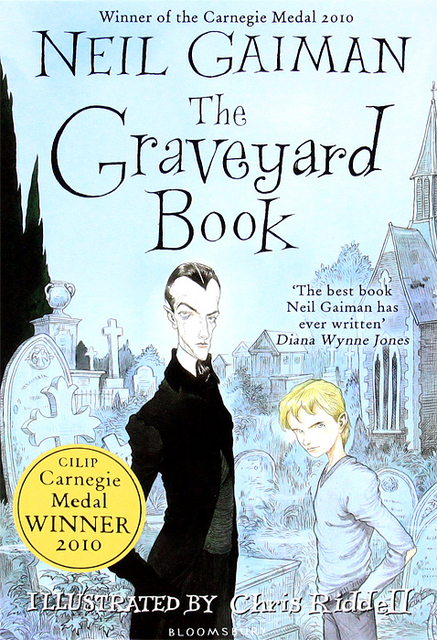 The Graveyard Book gaiman neil the view from the cheap seats