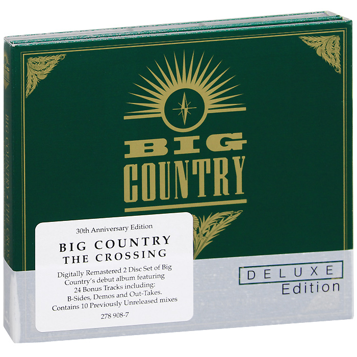 Big Country Big Country. The Crossing. Deluxe 30th Anniversary Edition (2 CD) big country live
