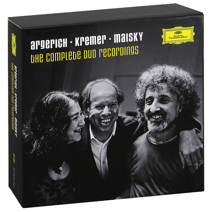 Марта Аргерих,Гидон Кремер,Миша Майский Marta Argerich, Gidon Kremer, Mischa Maisky. The Complete Duo Recordings (13 CD) миша майский franz schubert songs without words mischa maisky daria hovora