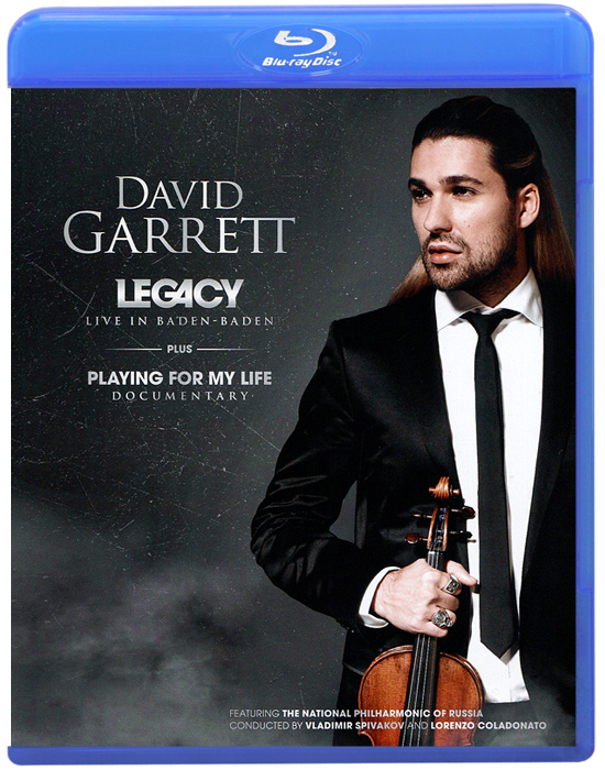 David Garrett: Legacy - Live In Baden-Baden (Blu-ray) foreigner live in chicago blu ray