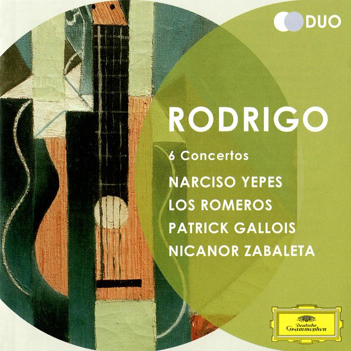 Rodrigo. 6 Concertos (2 CD)