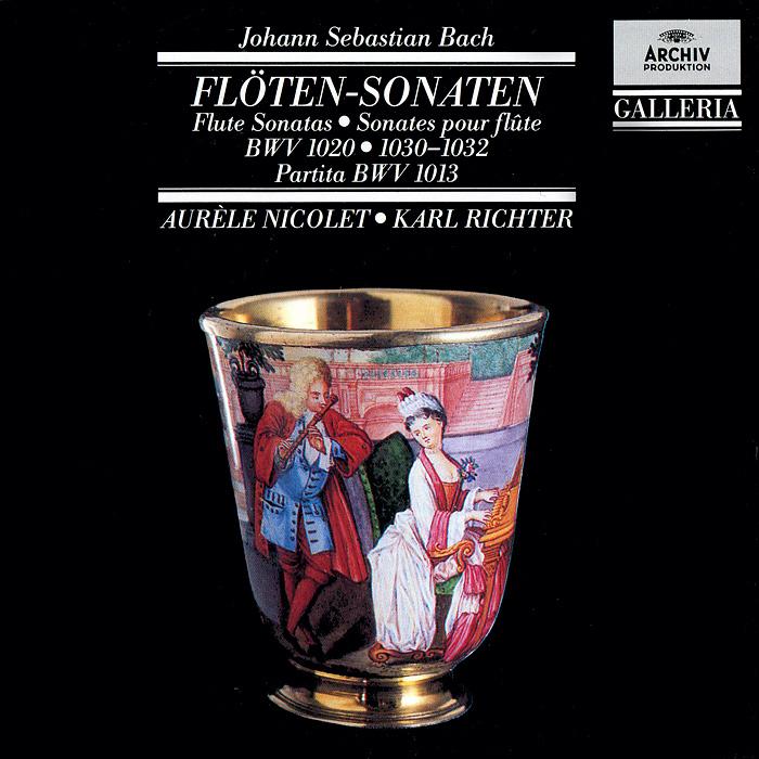 Zakazat.ru: Aurele Nicolet, Karl Richter. Bach. Flute Sonatas