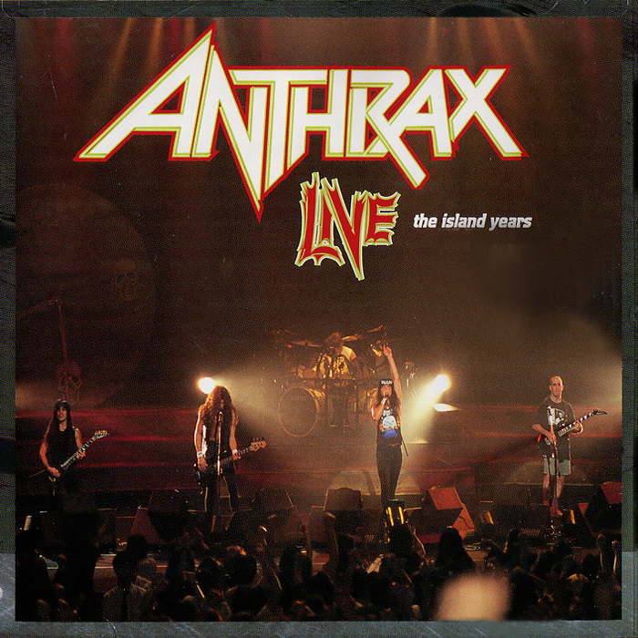 Anthrax Anthrax. Live. The Island Years anthrax anthrax worship music 2 lp
