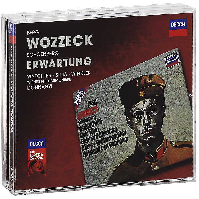 Wiener Philharmoniker, Christoph Von Dohnanyi Berg. Wozzeck. Schoenberg. Erwartung (2 CD) дутики der spur der spur de034awkyw71