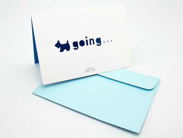 Открытка Going0110006Двойная открытка Going позволит вам оригинально дополнить подарок и поздравить близкого человека. Лицевая сторона открытки оформлена вырезанным силуэтом собачки и надписью Going …. В комплект входит цветной конверт. Характеристики: Материал:картон, бумага.Размер открытки (в сложенном виде):15 см х 10,5 см.Изготовитель:Китай. УВАЖАЕМЫЕ КЛИЕНТЫ!Обращаем ваше внимание на незначительные изменения в цвете некоторых деталей товара. Поставка осуществляется в зависимости от наличия на складе.