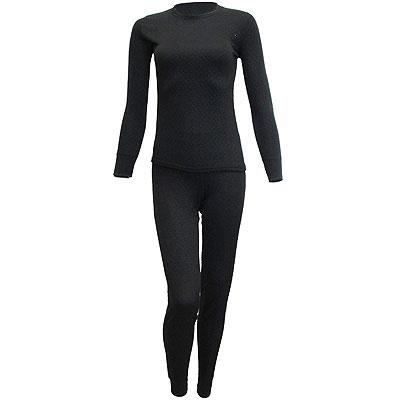 Термобелье женское Cratex, цвет: черный. 3612. Размер L (48)