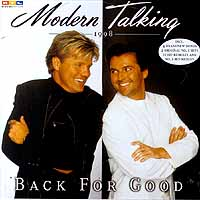Modern Talking Modern Talking. Back For Good (The 7th Album) modern talking modern talking back for gold – the new versions