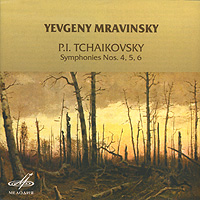 Yevgeny Mravinsky. Tschaikovsky. Symphonies Nos. 4, 5, 6 (2 CD)