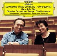 Клаудио Аббадо,The Chamber Orchestra Of Europe,Мария Пирес Robert Schumann. Piano Concerto. Piano Quintet. Maria Joao Pires / Claudio Abbado robert schumann – the book of songs