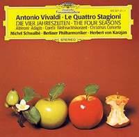Berliner Philharmoniker,Герберт Караян Antonio Vivaldi. The Four Seasons. Herbert von Karajan cd диск mutter anne sophie karajan herbert van the four seasons 1cd