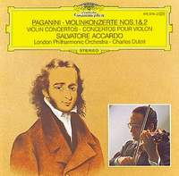 The London Philharmonic Orchestra,Сальваторе Аккардо,Шарль Дютуа Salvatore Accardo / Charles Dutoit. Paganini: Violin Concertos No. 1 & No. 2 2 in 1 fluted sleeve striped dress