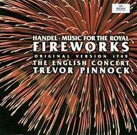 The English Concert Orchestra,Тревор Пиннок Trevor Pinnock. Handel: Music For The Royal Fireworks ollin professional shampoo hair