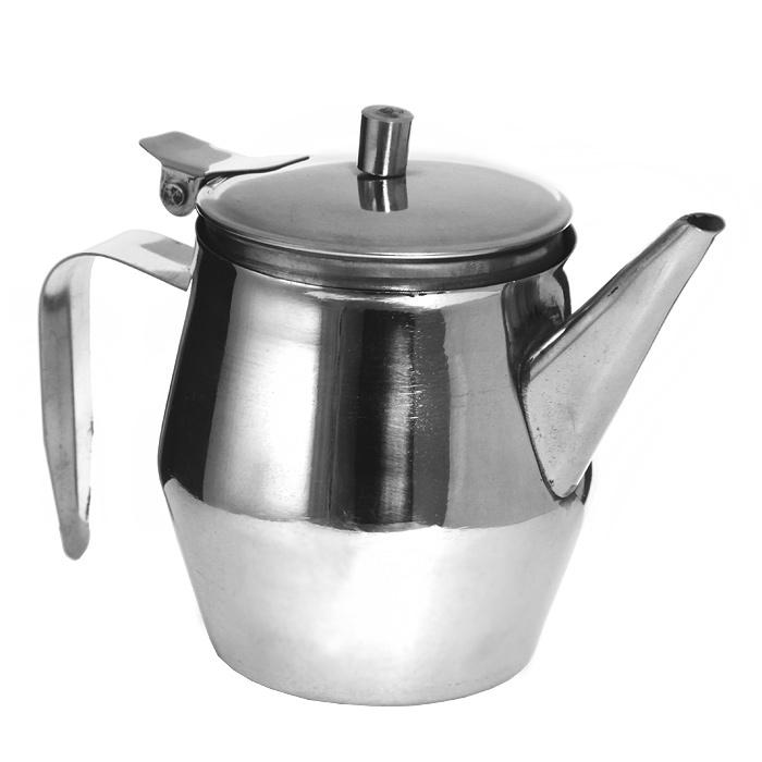 Заварочный чайник House & Holder 300 мл 63102-163102-1Компактный заварочный чайник House & Holder, выполненный из высококачественной нержавеющей стали, сочетает в себе изысканный дизайн с максимальной функциональностью. Чайник снабжен удобной ручкой, а откидная крышка открывается при нажатии на специальный рычажок.Чай в таком чайнике дольше остается горячим, а полезные и ароматические вещества полностью сохраняются в напитке. Характеристики:Материал: нержавеющая сталь. Высота чайника (с учетом крышки): 10 см. Диаметр чайника по верхнему краю:6,5 см. Объем: 300 мл. Производитель: Индия. Артикул: 63102-1.