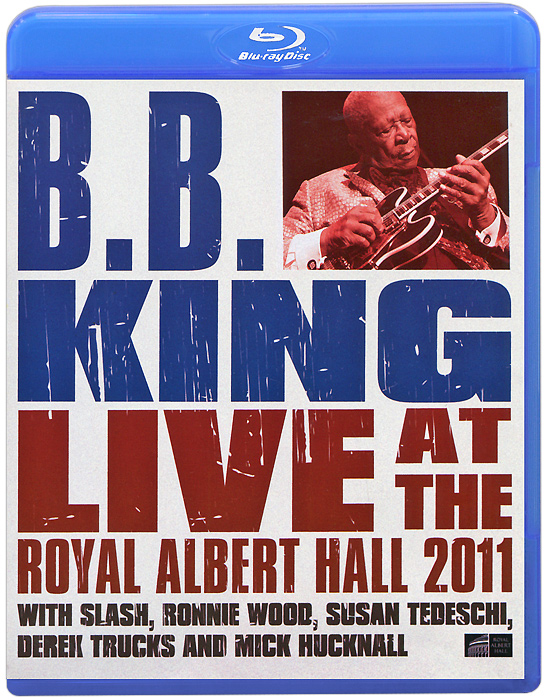 B.B. King: Live At The Royal Albert Hall 2011 (Blu-ray) blu ray диск joel billy live at shea stadium 1 blu ray