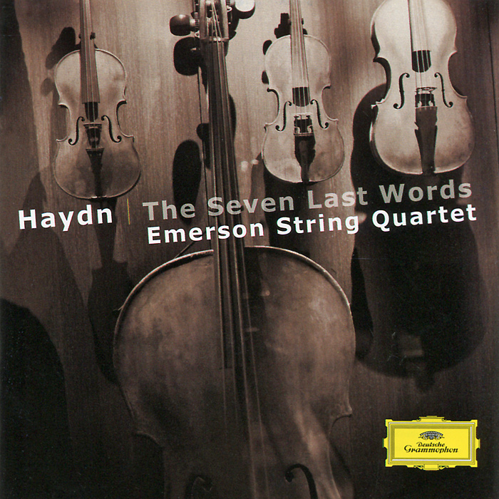 Emerson String Quartet Emerson String Quartet. Haydn. The Seven Last Words emerson string quartet complete string quartets mendelssohn emerson string quartet 4 cd