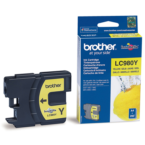 Brother LC980Y Yelllow brother brpc201