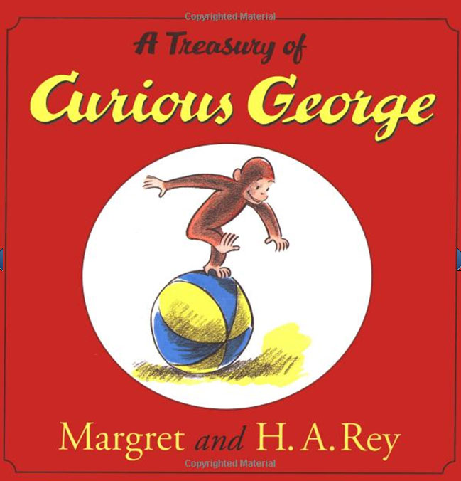 A Treasury of Curious George chris wormell george and the dragon