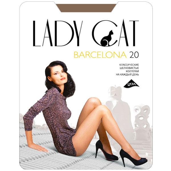 Колготки классические Грация Lady Cat Barcelona 20. Suntan (загар). Размер 4
