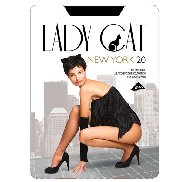 Колготки классические Грация Lady Cat New York 20. Nero (черные). Размер 5 колготки грация lady cat new york 40 цвет телесный размер 6